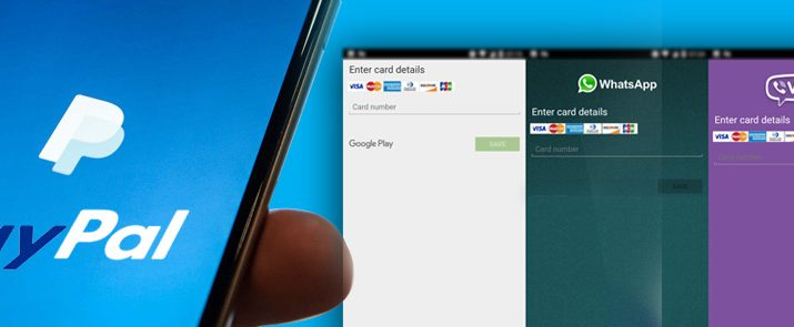 Android Trojan Deceives Two Face Authentication of PayPal accounts