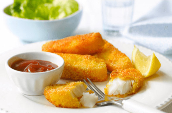 Baked Fish finger