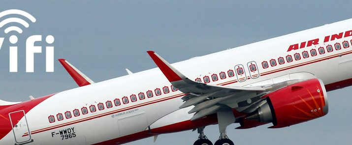 Air India on-board WiFi
