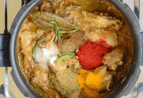 Spices to Mutton