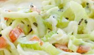 How to make coleslaw|Classic creamy coleslaw recipe
