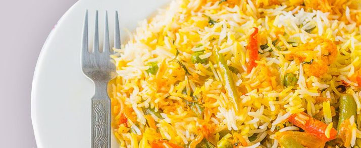Vegetable Subz Biryani