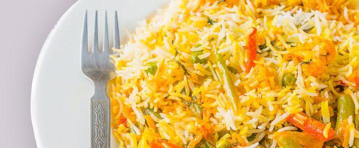 Vegetable Subz Biryani