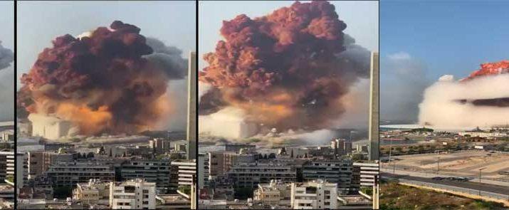 Beirut Blast Banner